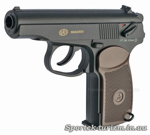 Пневматический пистолет Макарова калибра 4,5 мм