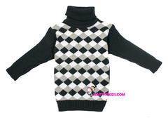 свитер-водолазка  Ромб