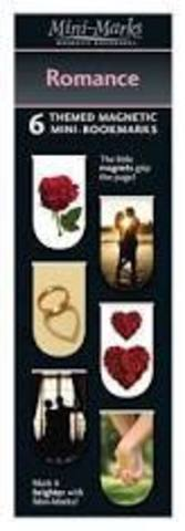 Magnetic bookmarks Romance