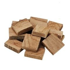 Кубики дубовые, средний обжиг и сильный