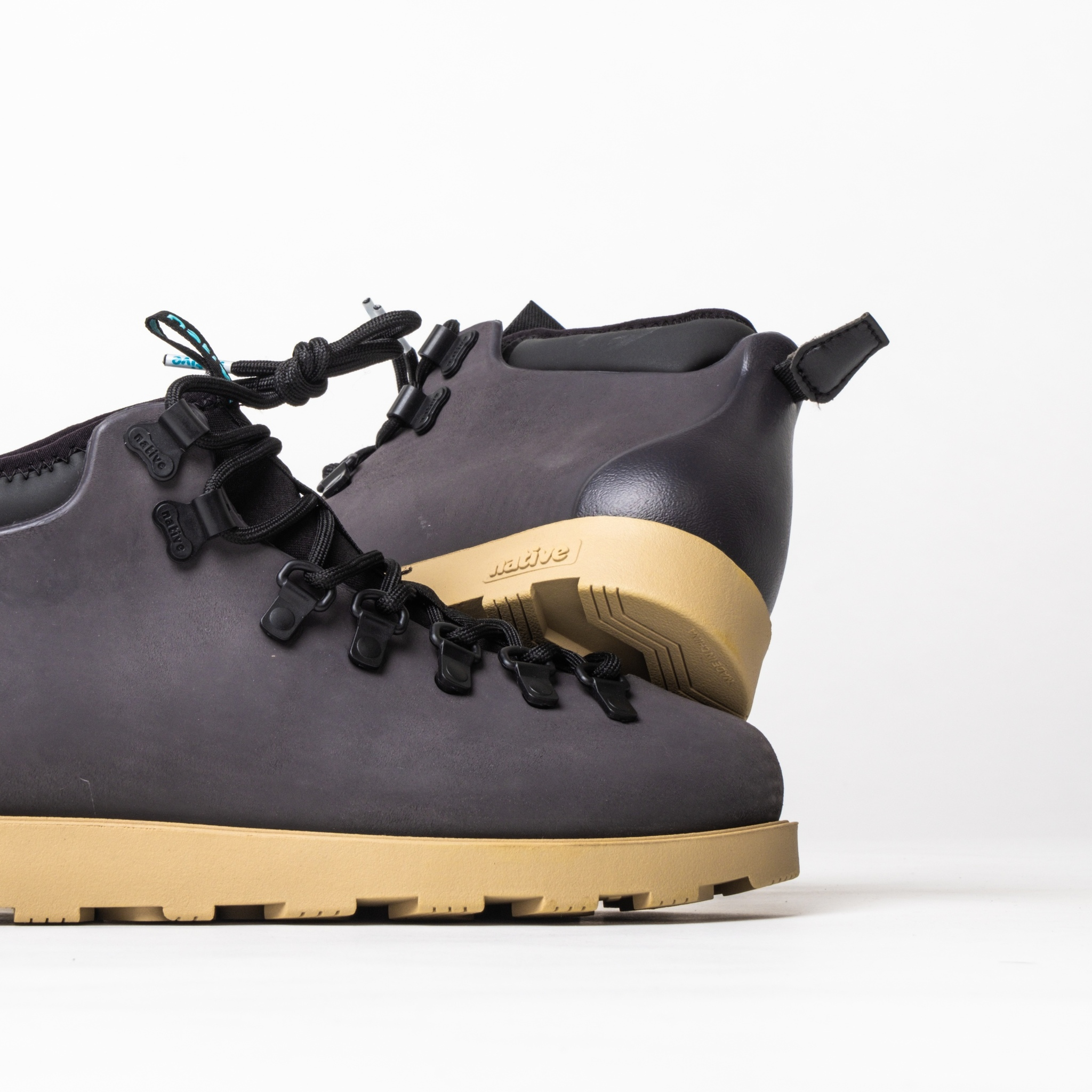 Ботинки Native Fitzsimmons Onyx Black / Stone Brown