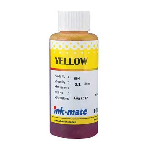 Чернила водные Ink-Mate EIM-290 DYE yellow 100 мл.
