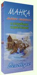 Каша Манка ячменно-пшеничная с отрубями, 500 гр. (Беловодье)