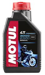Моторное масло MOTUL 3000 4T SAE 20W50
