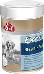 8 in 1 Excel Пивные дрожжи для кошек и собак для шерсти 260таб