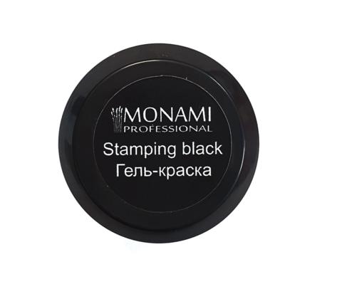 MONAMI гель-краска Stamping BLACK, 5 гр