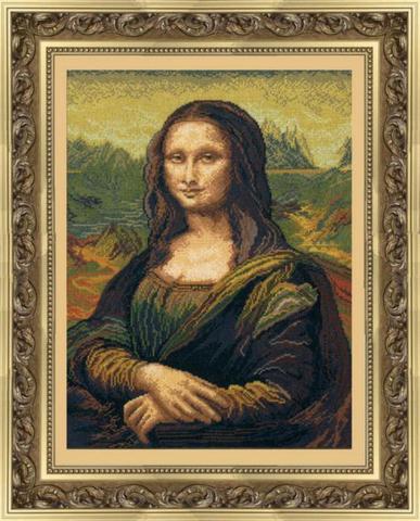 Мона Лиза (по мотивам Леонардо да Винчи)