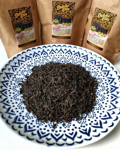 Чёрный чай Рухуна 100 грамм