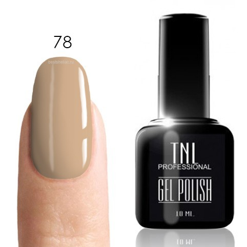 TNL Classic TNL, Гель-лак № 078 - пшеничный (10 мл) 78.jpg