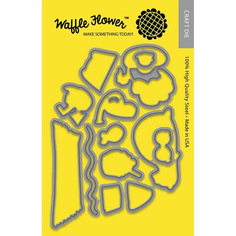 Набор ножей  для штампов Stay Cool - Waffle Flower Die Stay Cool