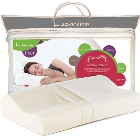 Подушка с эффектом памяти LumF-501. 35х56 см. Валики 10 и 12 см LUMF-501