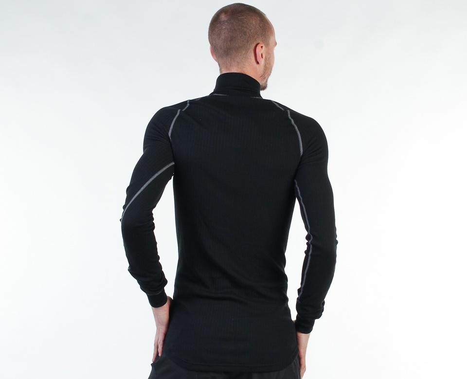Мужской комплект рубашек крафт Active Zip Grey+Black (194034-2999-194034-3950)