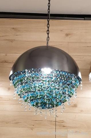 Ozero by Manooi ( blue ) replica chandelier