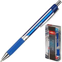 Ручка шариковая Unimax Tri Tek RT 0,7мм, син, масл, треуг, автом.