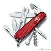 Нож перочинный Victorinox Climber 91мм 14 функций прозрачный красный (1.3703.T) нож перочинный victorinox swisschamp 1 6794 69 91мм 29 функций твердая древесина