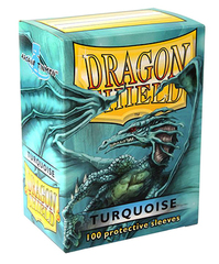 Dragon Shield - Бирюзовые протекторы 100 штук