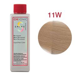 CHI Ionic Shine Shades Liquid Color 11W  (Очень светлый теплый блондин) - Жидкая краска для волос