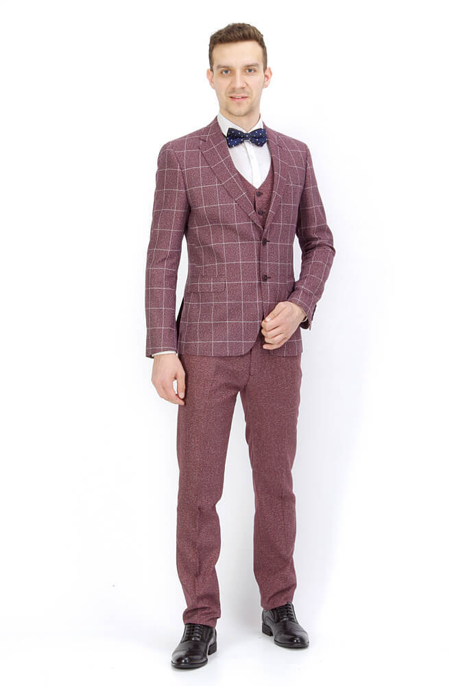 Костюм Slim fit ANTONIO ROSSI / Костюм-тройка slim fit IMGP8946.jpg