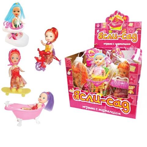 Мармелад в сахарной глазури с игрушкой