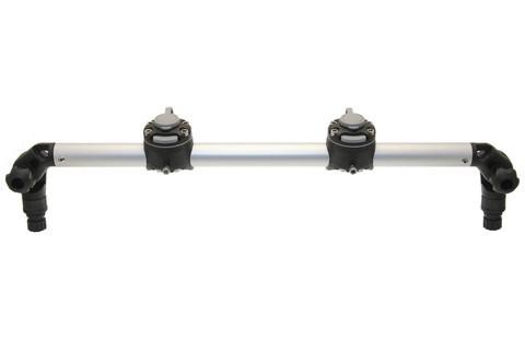 Тарга с двумя замками Gr610-2, 610 мм, черная