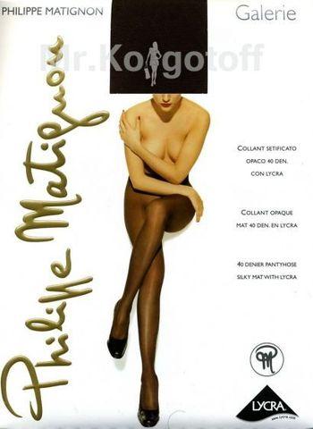 Колготки Philippe Matignon Galerie 40