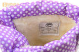 Зимние сапоги для девочек непромокаемые с резиновой галошей Пони (My little Pony), цвет сиреневый, Water Resistant. Изображение 15 из 15.