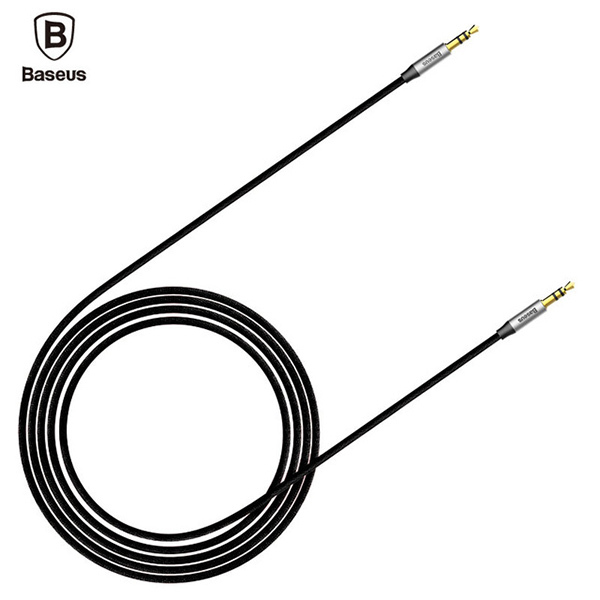 Аудио кабель Baseus M30 Yiven Audio Cable - AUX - 1.5м черный