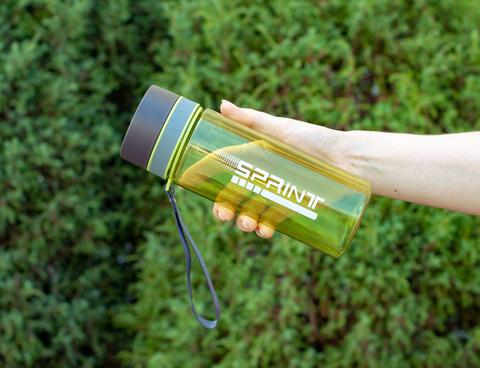 Бутылка POWCAN - 630 мл. SPRINT - Салатовый