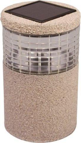 Светильник садово-парковый на солнечной батарее, 1 белый LED, PL503 (Feron)