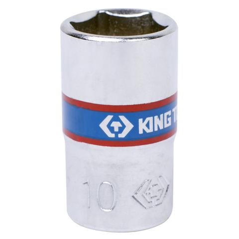 KING TONY (233510M) Головка торцевая стандартная шестигранная 1/4