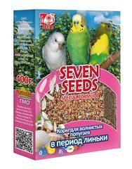 Корм для волнинстых попугаев в период линьки Seven Seeds Special