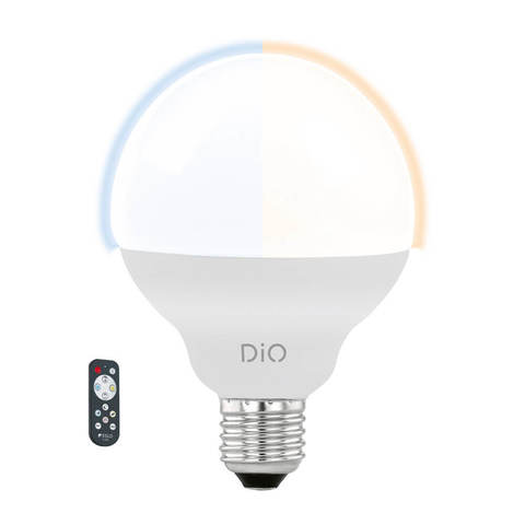 Лампа LED, СCT с изменением температуры цвета с пультом ДУ Eglo ACCESS LM-LED-E27 1X12W 1055Lm 2700-6500K  11811