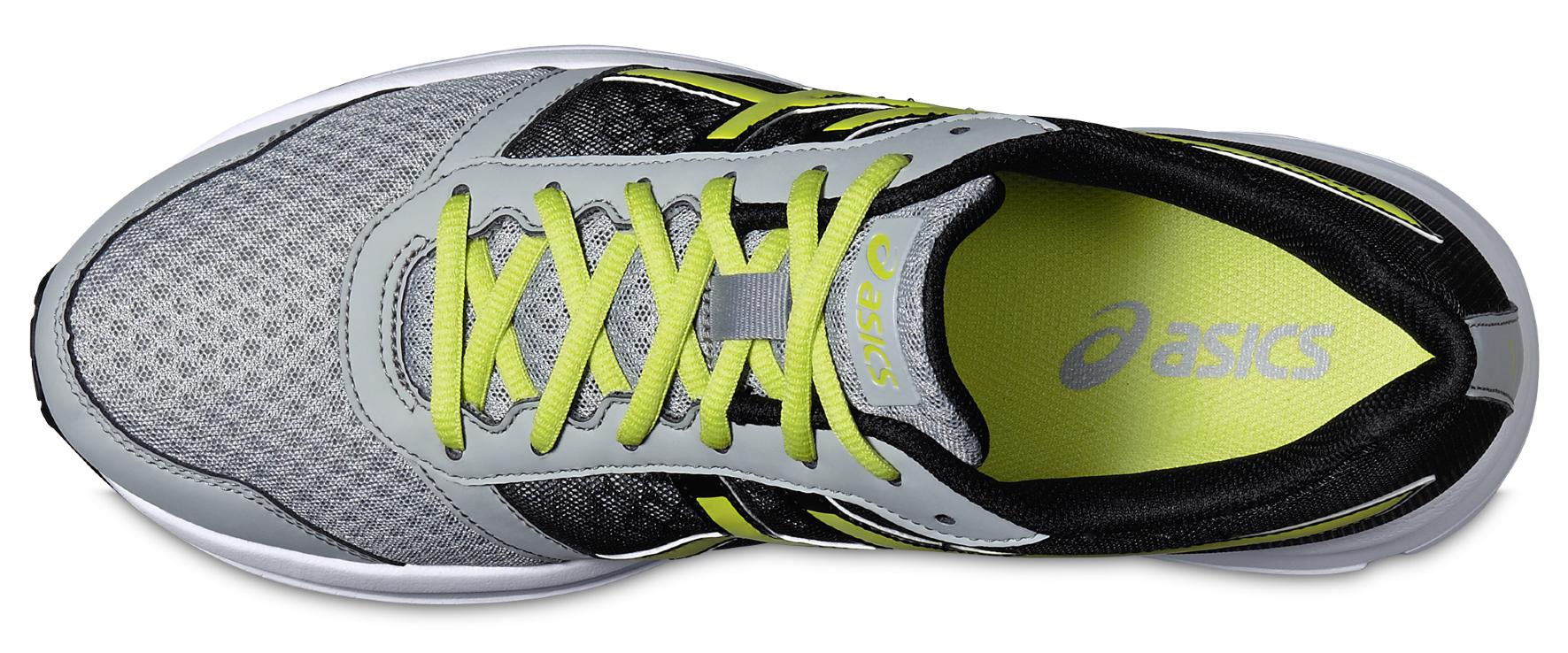 Мужские беговые кроссовки Asics Patriot 8 (T619N 9605) серые фото