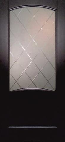 Дверь Луидор Криста Лайт, сткло с гравировкой