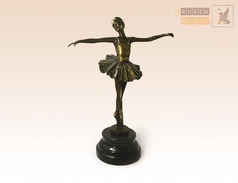 статуэтка Балерина на постаменте