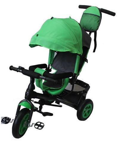 Велосипед детский с надувными колёсами (зеленый)