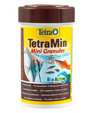 TetraMin Mini Granules корм в mini гранулах для молоди и мелких рыб 100 мл