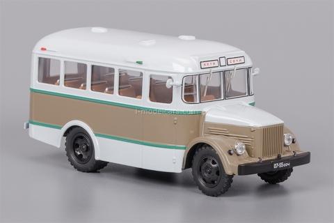 KAVZ-651 beige-brown 1958-1967 Classicbus 1:43