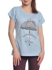 37662-8-2 футболка женская, голубая