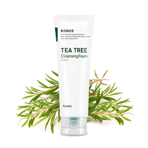 Очищающая пенка A'PIEU Nonco Tea Tree Cleansing Foam 130ml
