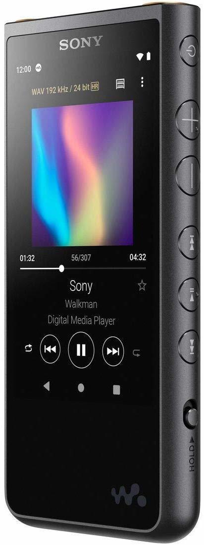 Sony NW-ZX507B аудиоплеер чёрного цвета