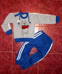Детский спортивный костюм Винни пух, начёс