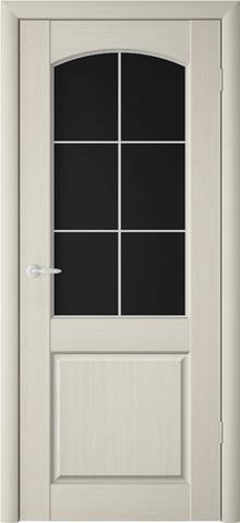 Дверь ALBERO Верона Классик2, триплекс (беленый дуб, остекленная ПВХ), фабрика Фрегат