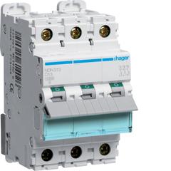 Автоматический выключатель 3Р, D-13A, 10kA