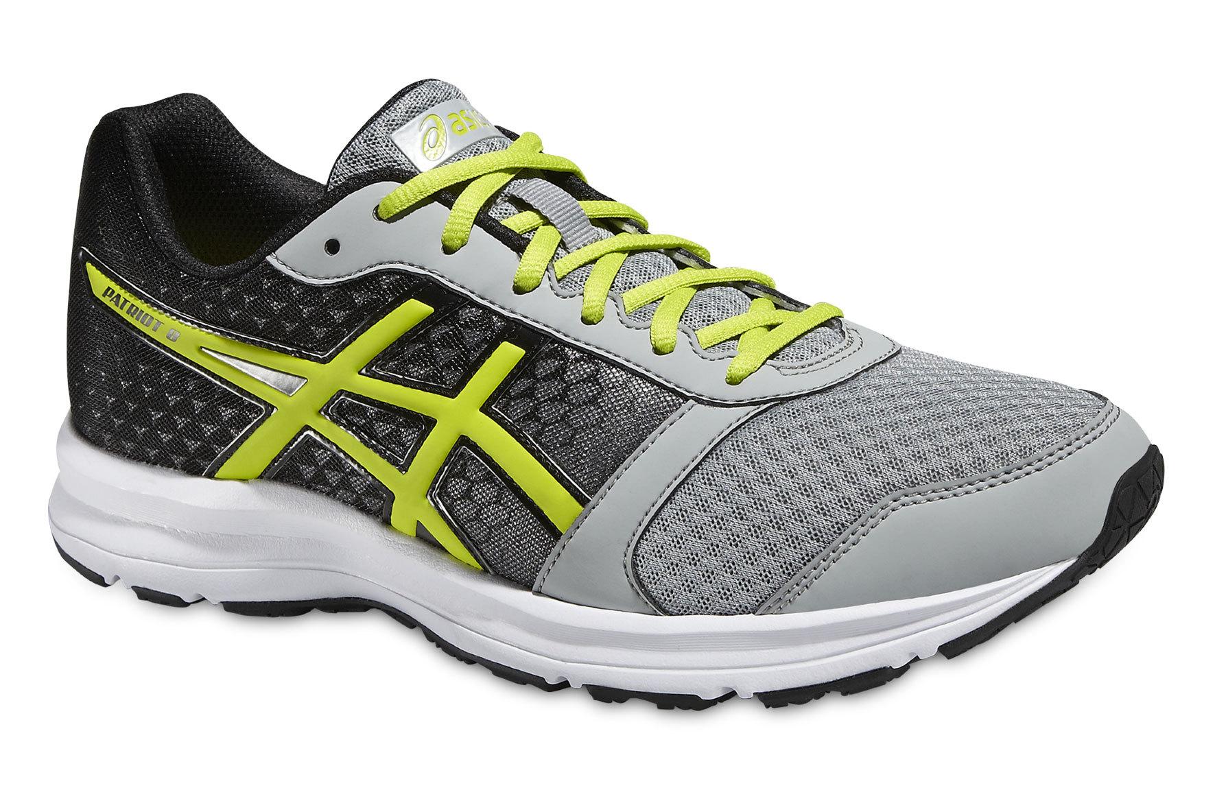 Мужские кроссовки для бега Asics Patriot 8 (T619N 9605) серые