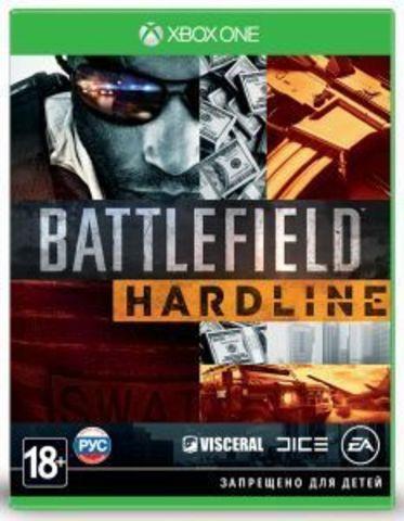 Xbox One Battlefield: Hardline (русская версия)