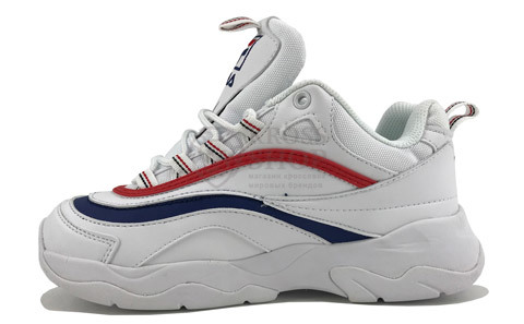Fila Women's Ray White/Blue/Red