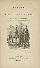 Уолден ,или жизнь в лесу