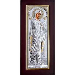 Заступница (Меситрия). Икона Божьей Матери в серебряном окладе.