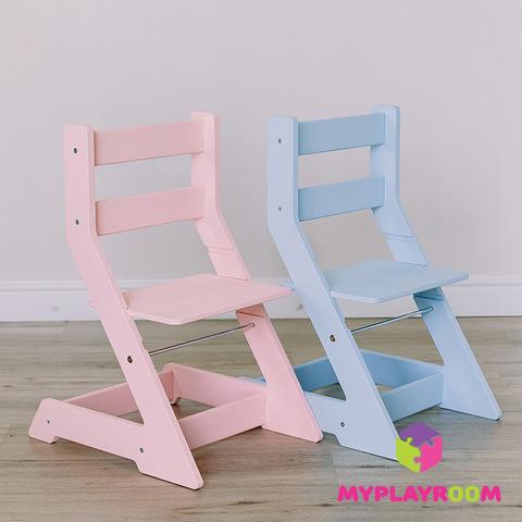 Растущий стульчик, розовый 4